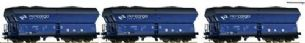 Roco 76130 HO Gauge PKP Cargo Side Discharge Hopper Wagon